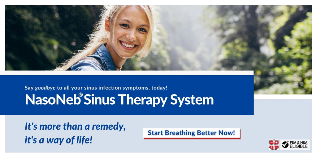 Stop Sinusitis Symptoms With NasoNeb's All-In-One Sinus Therapy System