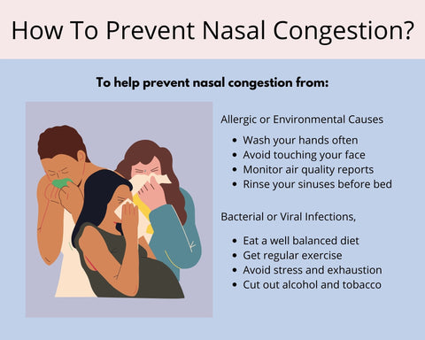 How to prevent nasal congestion