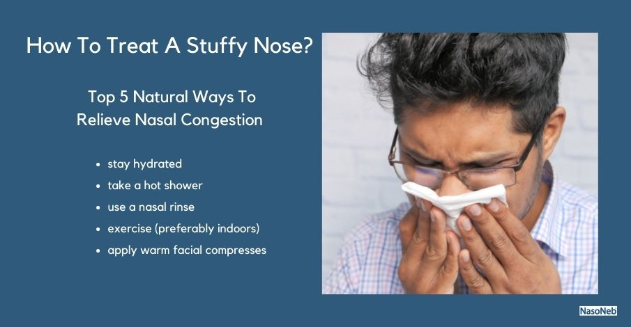 How To Get Rid Of Nasal Congestion