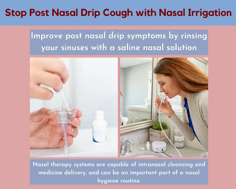 How to stop post nasal drip cough symptoms
