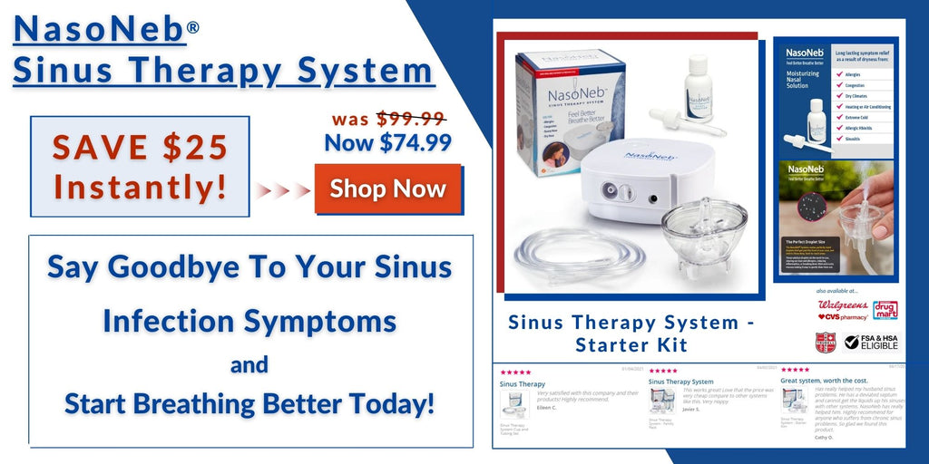 NasoNeb's All-In-One Therapy System