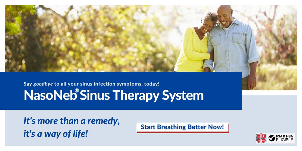 Treat Sinusitis With NasoNeb's All-In-One Sinus Therapy System