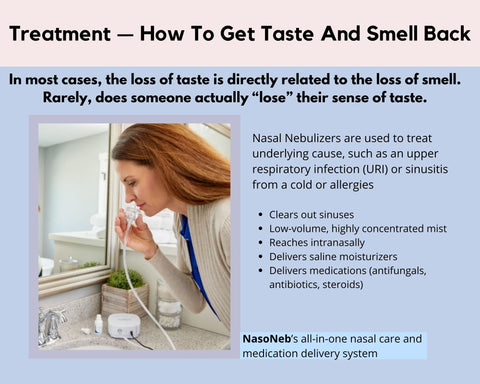 How To Treat Loss Of Taste and Smell