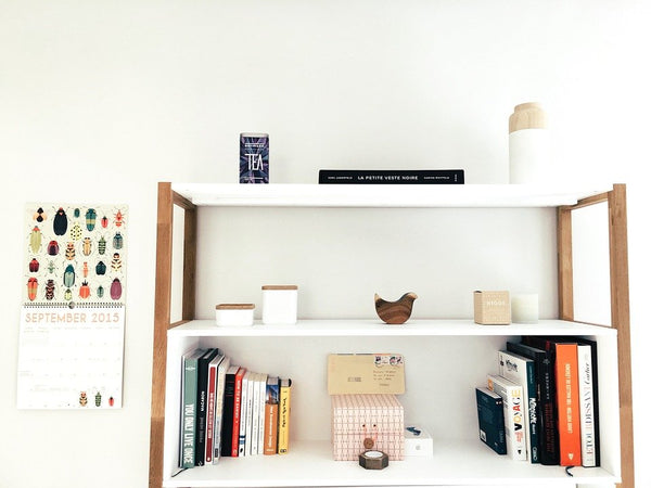 Try Shelves to Create a Retreat