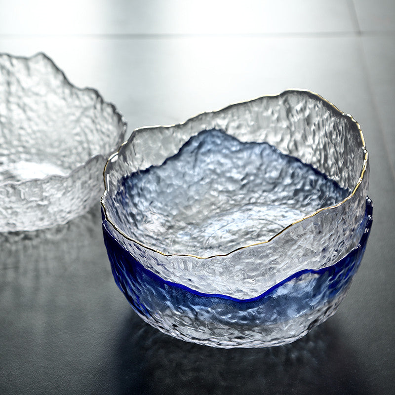 Transparent Glass Bowl Household