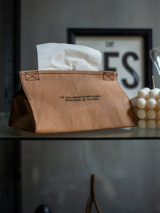Kraft Paper Tissue Box Holder