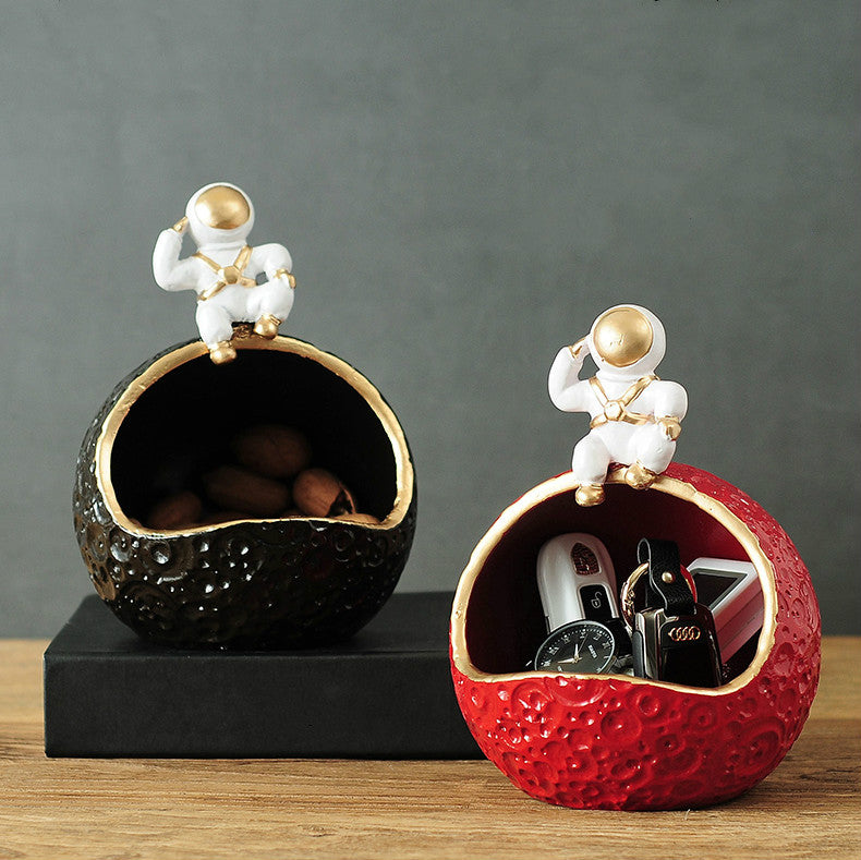 Astronaut Creative Ornaments Storage