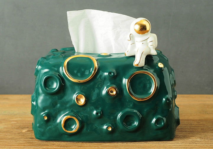 Creative Astronaut Storage Tissue Box