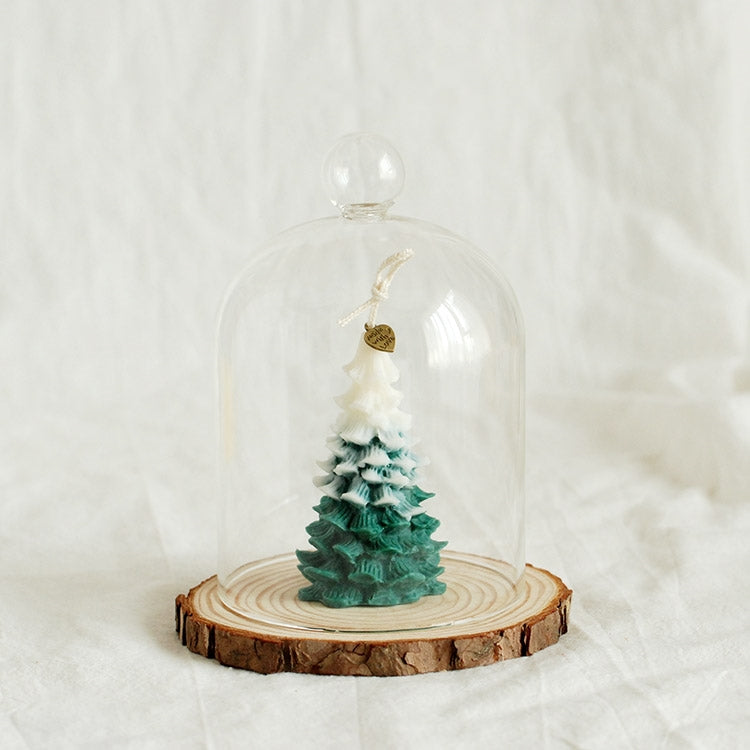 Handmade Christmas Tree Shaped Scented Candle