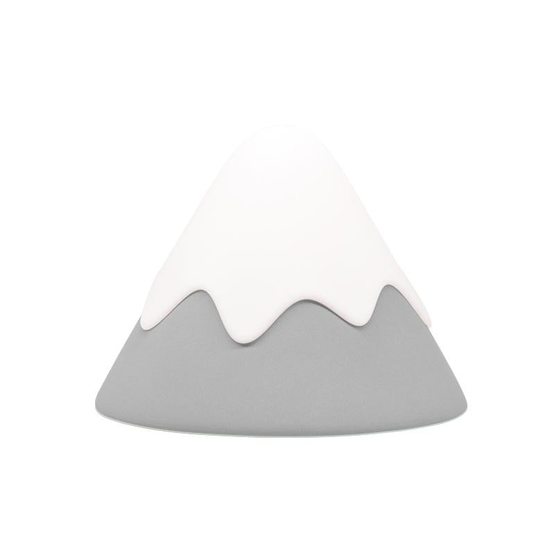 Snow Mountain LED Lamp Night Light (Cordless + Rechargeable)