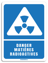 Load image into Gallery viewer, Danger matières radioactives