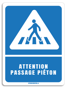 Attention passage piéton