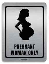 Load image into Gallery viewer, Pregnant woman parking