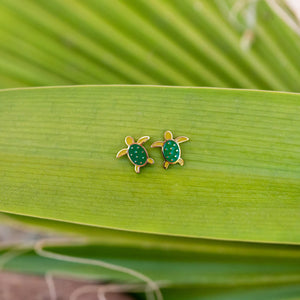 Load image into Gallery viewer, Sea Turtle Earrings