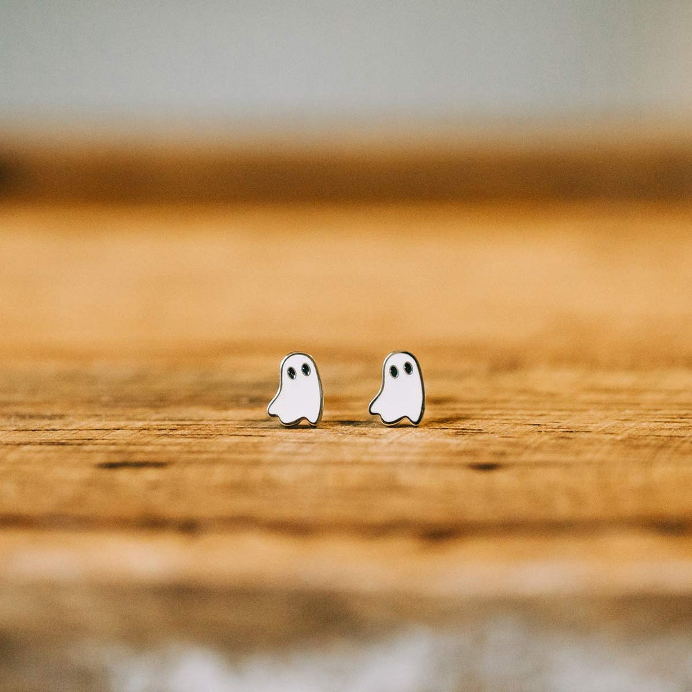 Load image into Gallery viewer, Ghost Earrings
