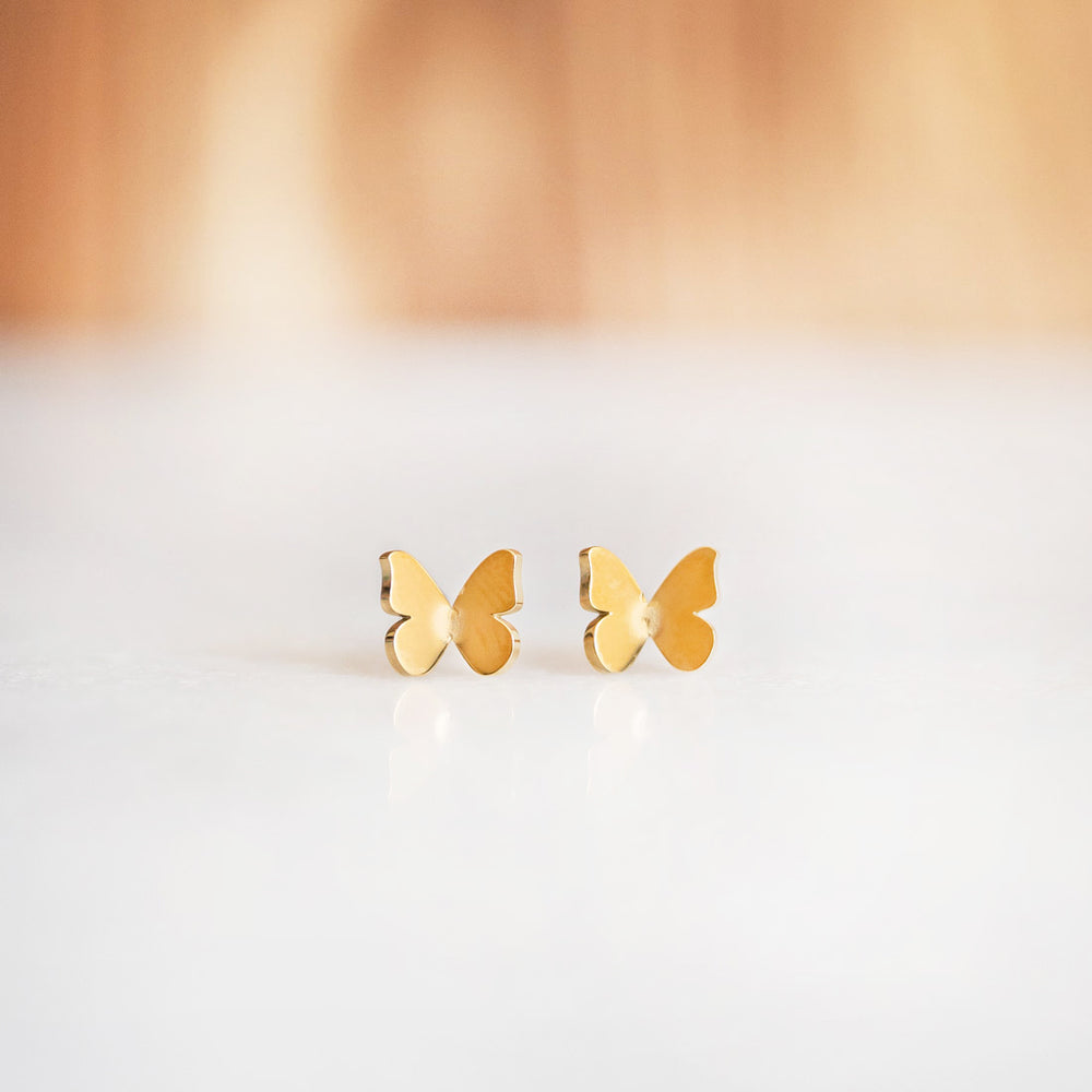 Basic Butterfly Earrings