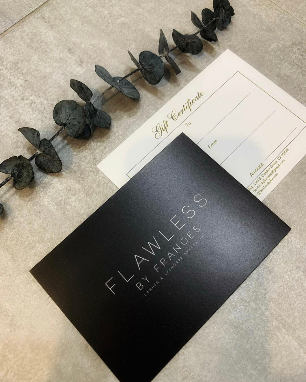 Flawless by Frances Gift Card