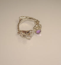 Load image into Gallery viewer, Symphony ring Amethyst Pearl