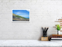 Load image into Gallery viewer, 20.7 cm x 30.0 cm, 8.1 inches x 11.8 inches Etna's slope Sicily landscape print