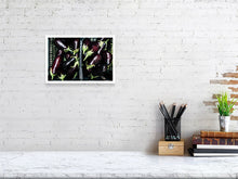 Load image into Gallery viewer, 20.7 cm x 30.0 cm, 8.1 inches x 11.8 inches aubergine photo print