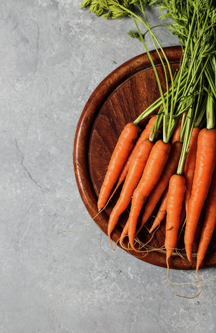 raw carrots picture to print