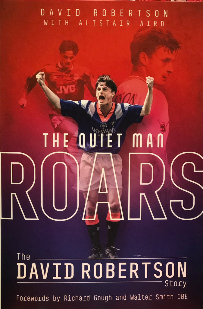 Cover of The Quiet Man Roars by Alistair Aird and David Robertson, released on the 29th of March 2021 and available from Belfast Books on the famous York Road in Belfast