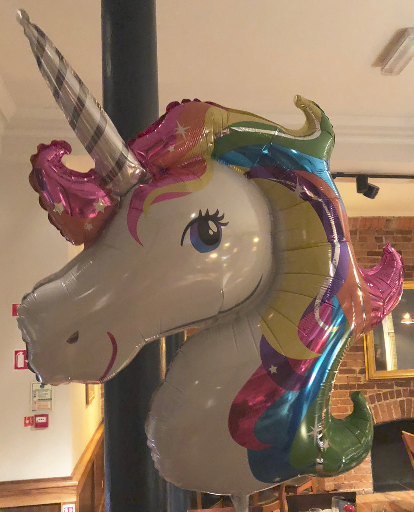 """But John, where else would I get a unicorn balloon at half three in the morning?"""