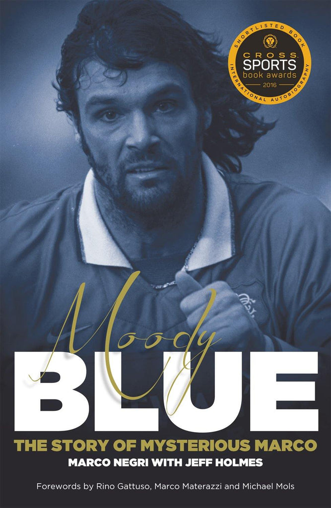 Moody Blue: The Story of Mysterious Marco - Belfast Books