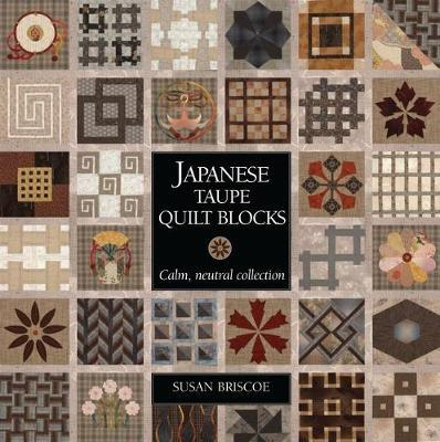 Japanese Taupe Quilt Blocks : Calm, Neutral Collection