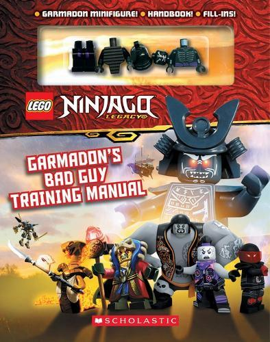 LEGO Ninjago: Garmadon's Bad Guy Training Manual (with Garmadon minifigure)