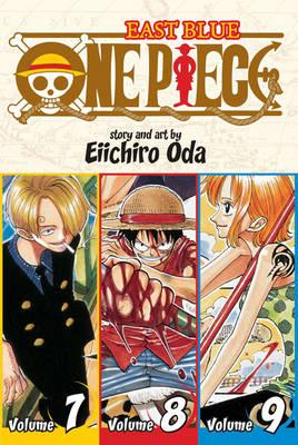 One Piece (Omnibus Edition), Vol. 3 : Includes vols. 7, 8 & 9 : 3