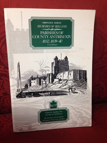 Ordnance Survey Memoirs of Ireland: 1812, 1839-40 v.37: 1812, 1839-40 Vol 37 (The Ordnance Survey memoirs of Ireland 1830-1840)