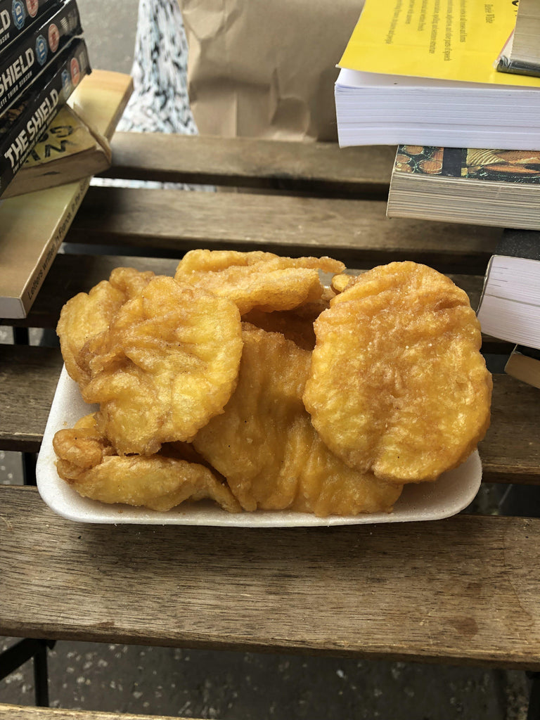 Cold Potato Scallops from Moyola