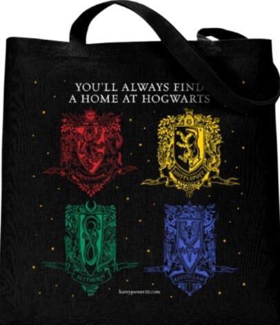 Limited Edition Harry Potter Cotton Tote Bag