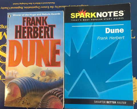 Dune and Dune Sparknotes Bundle
