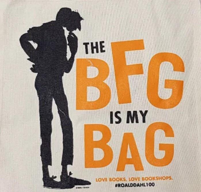 The BFG Is My Bag Tote Bag 2016