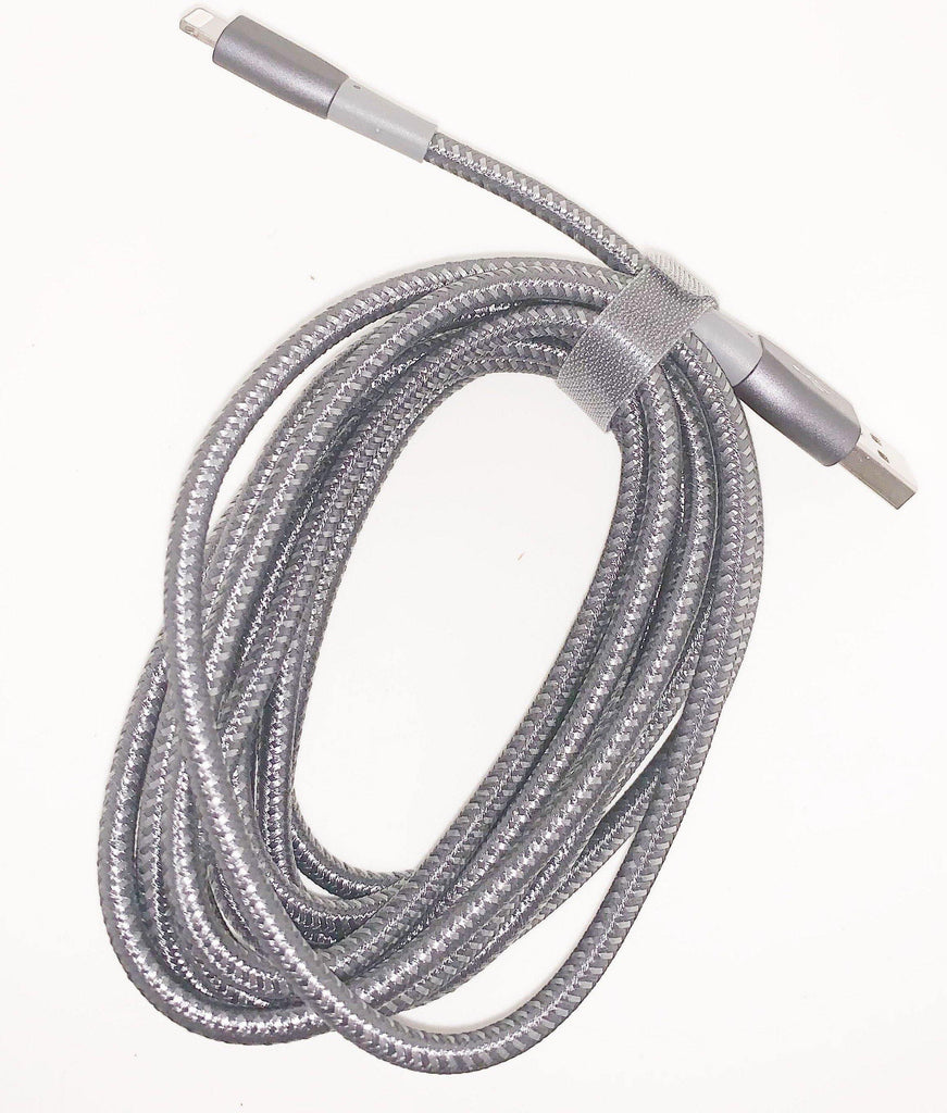 Apple MFi Certified 3m Apple iPhone and iPad Double Nylon Braided USB A Cable