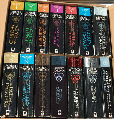 **FREE UK DELIVERY** The Wheel of Time Complete 14 Book Series