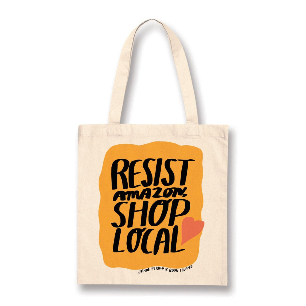 Resist Amazon Cotton Tote Bag - Belfast Books