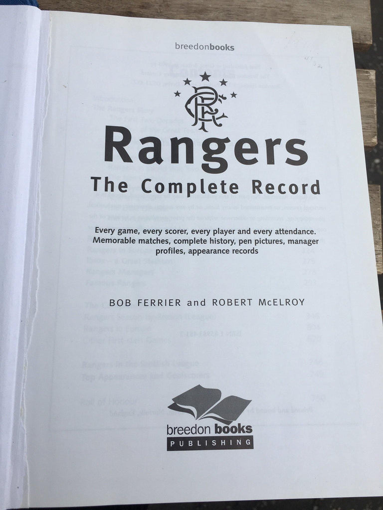 Rangers: The Complete Record
