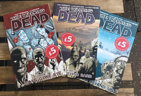Walking Dead Vol. 1,2 and 3