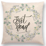 Just Read Cushion Cover 45cm Square