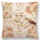 Square Book Themed Cushion Covers 450mm x 450mm (does not include cushion filling)