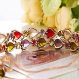 Multi Color Crystal Bracelet