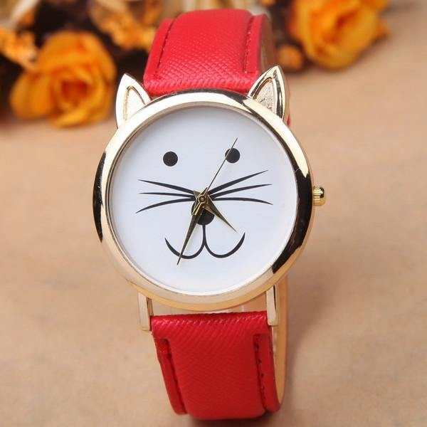 Cute Cat Trendy Watch