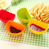 4pcs Mini Sauce Bowls
