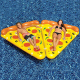 Inflatable Pizza Pool Raft Summer Swimming Lounge Float Pool Party Toys for Adults and Kids