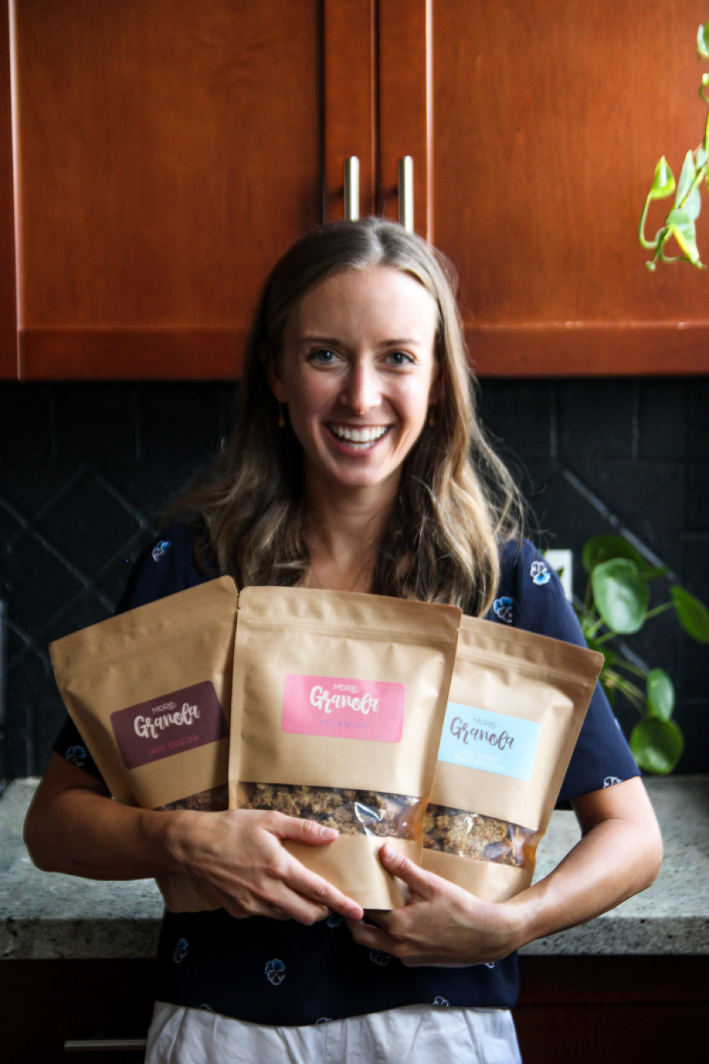 Founder President Small Business Female Owned Canada More Granola