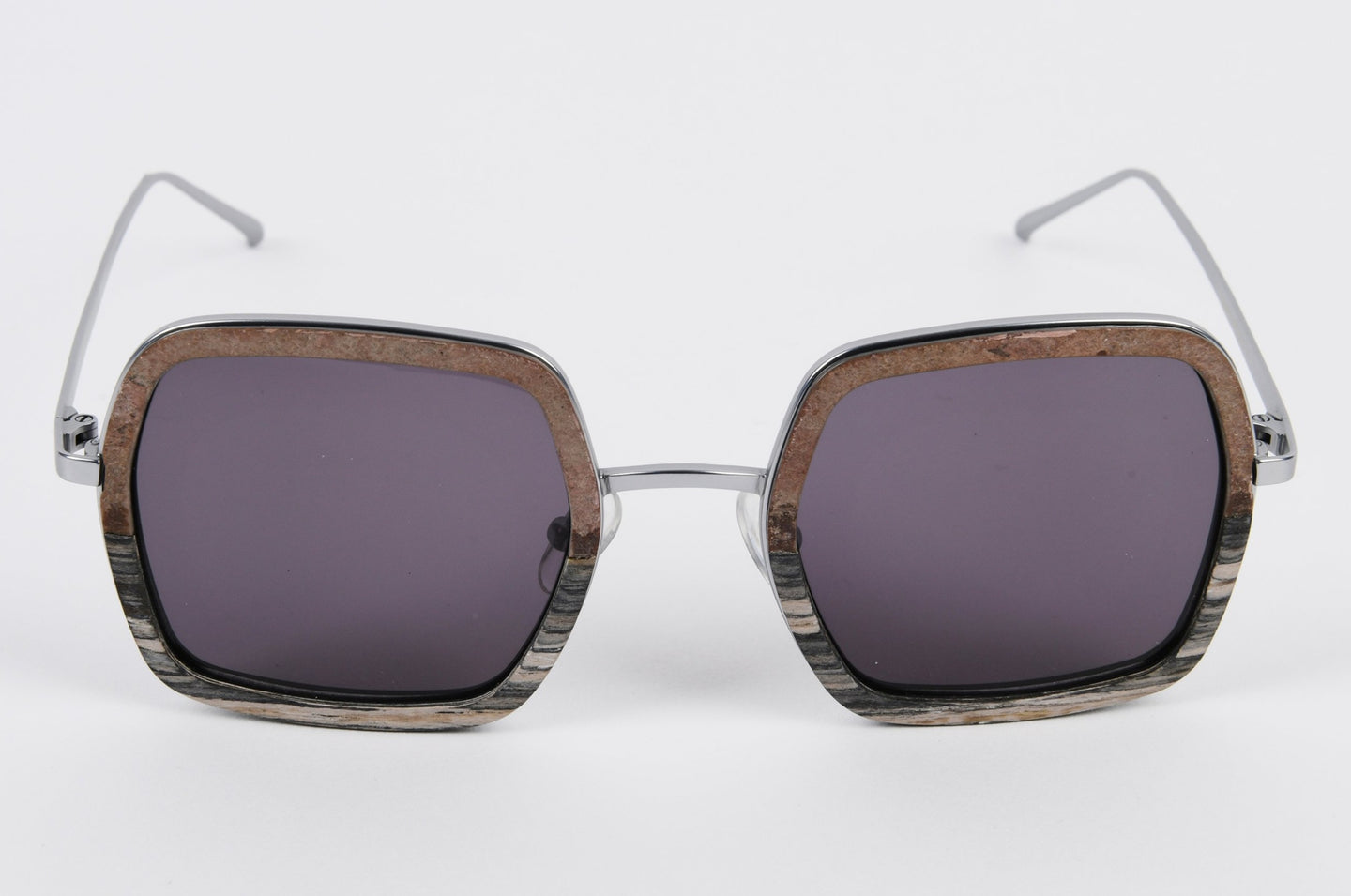 eco -friendly wooden prescription sunglasses frame