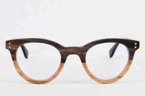 Eco- friendly wooden prescription glasses frame